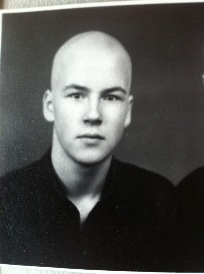 Sellel pildil on Artur Talvik umbes 16-aastane. Sama vana, kui meenutuses kirjeldatud KGB-intsidendi ajal.