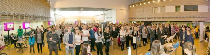 Ligi pool gümnaasiumiõpilastest kavatseb jätkata õpinguid Tallinna tehnikaülikoolis. Oluliselt on kasvanud tehnoloogiaerialade eelistajate osatähtsus parima õpiedukusega noorte ning ka humanitaarkallakuga gümnaasiumide lõpetajate seas. Foto: TTÜ