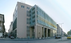 Corvinuse ülikool Budapestis.