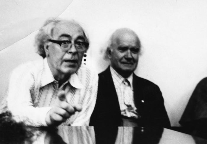 Voldemar Panso (1920–1977) ja Karl Ader (1903–1993).