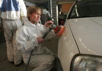 Tütarlapsed on hakanud ka automaalriks ja keevitajaks õppima. Paraku on selgunud, et tööle nad sellele erialale enamasti ei lähe. Foto: Raivo Juurak