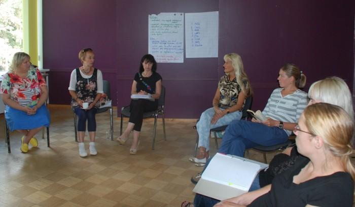 Hetk õpilasabi ümarlaudade asutamise arutelult. Foto: Kirsti Tammik