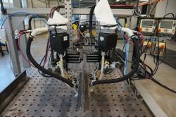 Tallinna Lasnamäe mehaanikakooli robotkeevituse seade – kool on juba praegu valmis õpetama robotkeevitust. Foto: Anu Kull