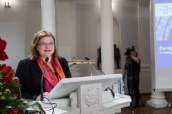Euroopa talendikeskuse juht Csilla Fuszek.