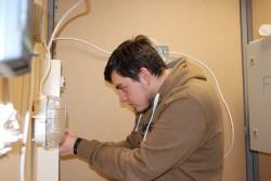 Elektrikuks õppiv Roman Ivanov tahab töötada ainult Eestis.