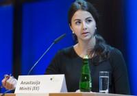 Anastasija Minitš. Fotod: jugend-debattiert.eu