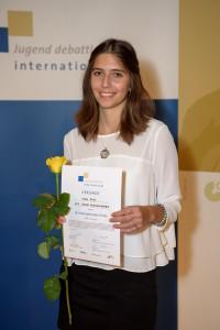 2015. aasta võistluse võitja Anna Ryan Riias. Foto: Kaspars Garda