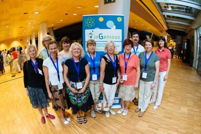 Eesti õpetajad InGeniouse suvekoolis