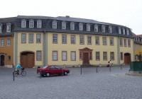 Goethe elumaja Weimaris. Praegu asub hoones muuseum. Foto: Wikipedia