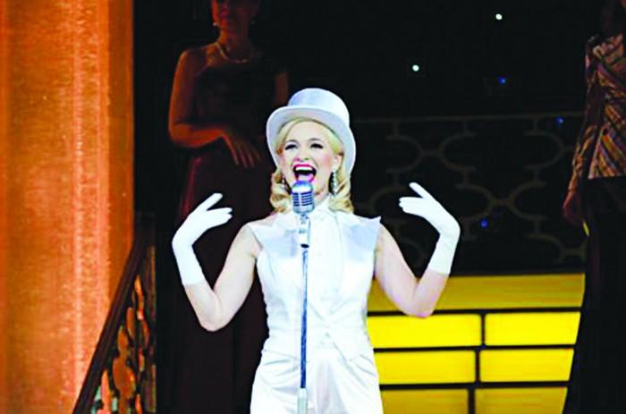 """""""Võlgnen oma karjääri eest tänu Viimsi kooliteatrile. Sealt sai alguse minu armastus muusikalide vastu ning ka teatav põhimõttelisus, mis puudutab lavatöö tegemist,"""" usub Hanna-Liina Võsa. Foto: Harri Rospu"""