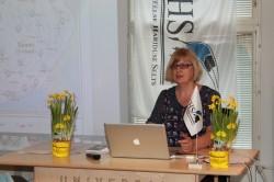 Helja Kirber tutvustamas eTwinningu projekti