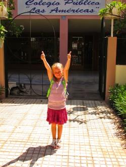 Esimene koolipäev meeldis voh nii!