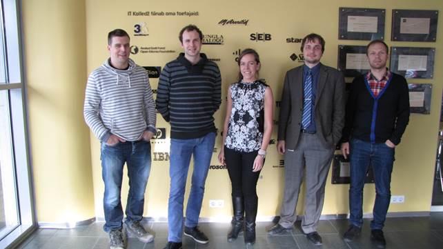 IT-kolledži vilistlaskogu asutajaliikmed: Klemens-Augustinus Kasemaa, Erki Põldma, Doris Viikholm, Kristo Kaasan, Kert Valbert