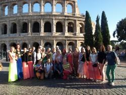 Kooli ajaloo- ja seiklusring Itaalias.