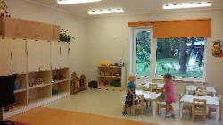 Lasteaed Kelluke kõrvalhoones avatud sõimerühm.