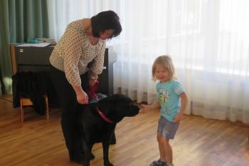 Koeraga suhtlemist õppimas