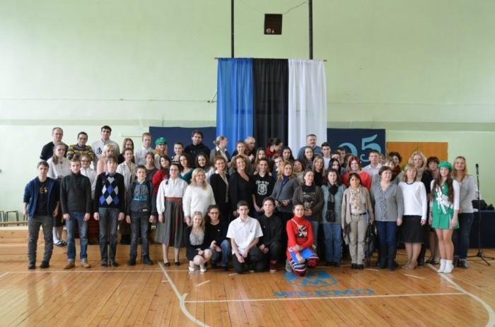 Kogu Comeniuse grupp - külalised ja võõrustajad