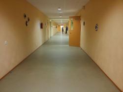 Lähte kooli teise korruse jalutuskoridor. Fotod: Kristel Rebane