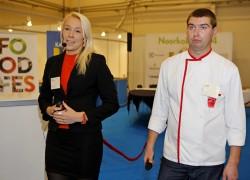 Merilyn Meho AS-ist Santa Maria ja Indrek Liiv P. Dussmann Eesti OÜ-st jagasid retsepte lasteasutuste menüüde rikastamiseks.