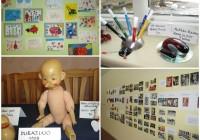 Näitused Põlva lasteaias Lepatriinu, veebruaris 2015.