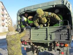 Niimoodi toimub kaitseväelaste transport