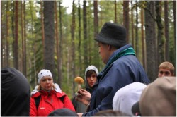 Mükoloogia praktikum Koljaku metsas