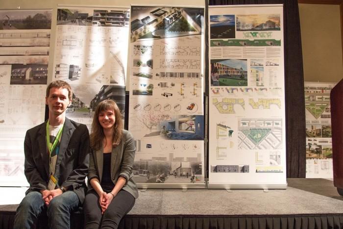 TTÜ üliõpilased Anna Temmo ja Ivo Riet. Fotod: TTÜ