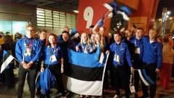 Eesti võistkond 2015. aasta WordSkillsil.