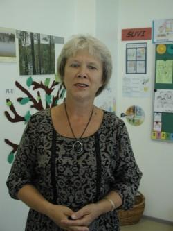 Eesti keele õpetaja Natalja Lunjova