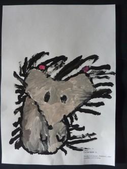 """""""Siil"""". Autor 5-aastane Lauri Meos Raasiku Oravakese lasteaiast. II koht lasteaia vanuserühmas."""