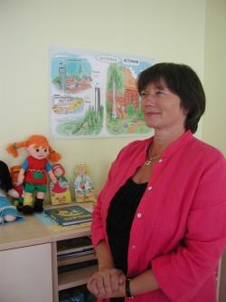 Keelekümblusrühma õpetaja Tatjana Laansoo