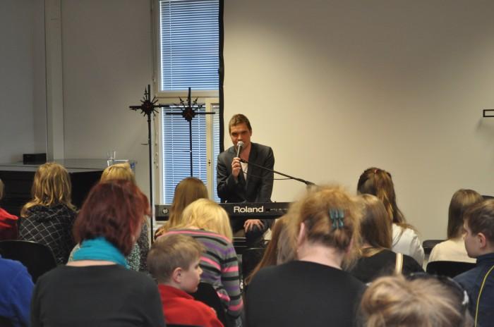 Ott Leplandi kontsert. Fotod: Helja Kirber