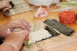 Sushi õpituba Saku gümnaasiumis.